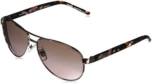 Ray-Ban Damen 0RA4004 Sonnenbrille, (Rose Gold), 59