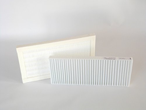 Ersatzfilter Set G4 / F7 für Viessmann Vitovent F-300 (2 Filter) Klimaanlage Filter 24x24