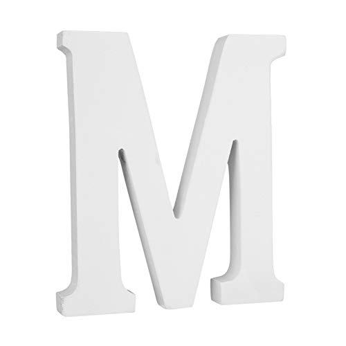KISSION Große Wand Buchstaben, Hängende Wand 26 Buchstaben Freies Stehendes Alphabet Wort Braut Buchstaben Spielzeug für Hochzeit Geburtstag Home Schlafzimmer Büro Dekor -