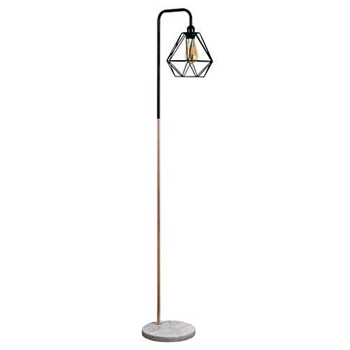 Standleuchten Nordic Moderne Minimalistische Mode Wohnzimmer Schlafzimmer Studie Balkon Mesh Lampenschirm Schmiedeeisen Marmor Stehlampe Standleuchten -