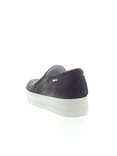 Igi&Co 78012 Slip On Donna Nero