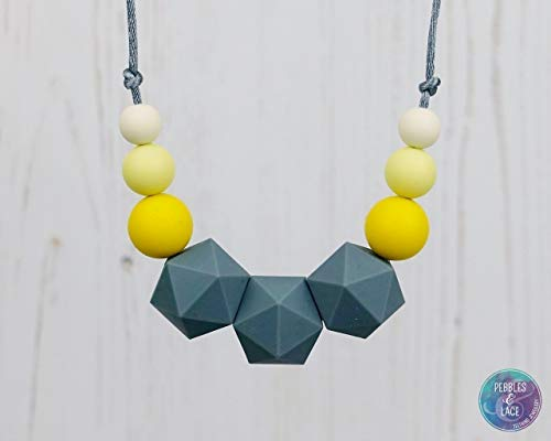 Teething and Nursing Necklace - MEISSA: STELLAR