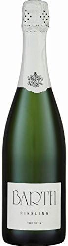6x 0,75l - Wein- und Sektgut Barth - Riesling-Sekt - trocken - Sekt b.A. - Rheingau - Deutschland - Schaumwein trocken