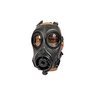 Armeeware Gr.1 (60-64) Britische SAS Gasmaske FM12 schwarz neuwertig Gasmaske ABC-Ausrüstung