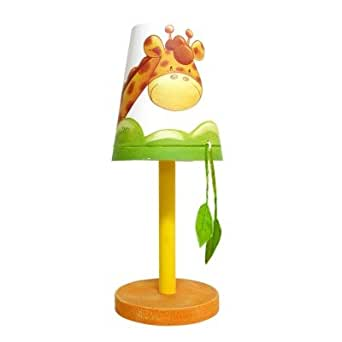 titoutam t0004 savane lampe avec pied bois abat jour bois de peuplier luminaires. Black Bedroom Furniture Sets. Home Design Ideas