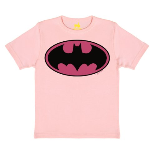 BATMAN - LOGO (PINK) T-SHIRT CHILDREN pastel pink 140/152 (Superman Returns Kind Kostüme)