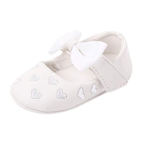 Alwayswin Baby Mädchen Mode Loafers Lauflernschuhe Weiche und Bequeme Babyschuhe Warme Schuhe Erste Wanderer Schuhe Booties rutschfeste Kleinkindschuhe Slipper Mokassins Lederschuhe