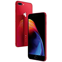 "Apple iPhone 8 Plus 5.5"" SIM única 4G 64GB Rojo - Smartphone (14 cm (5.5""), 64 GB, 12 MP, iOS, 11, Rojo)"