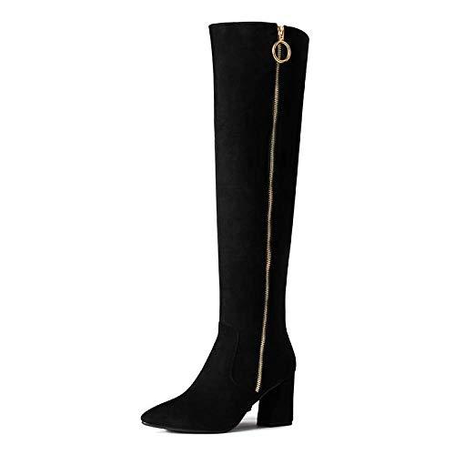 stivali Frauenschuhe Winter Sexy Wilde Dünne Lange Hochhackige Stiefel, Hohe Stiefel Damen Stiefel Über Die Knie - Kostüm Knie Stiefel