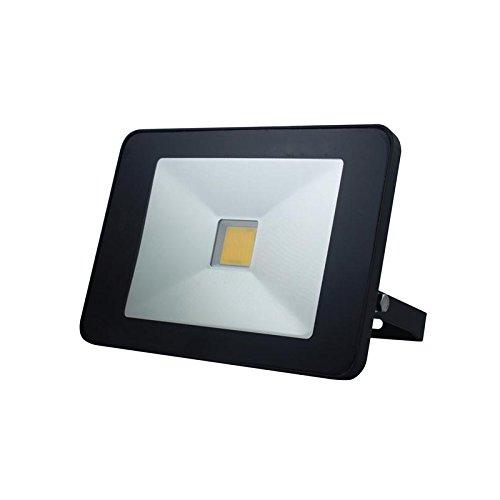 VELLEMAN - LEDA5005NW-BM 50W LED Strahler mit Bewegungsmelder und Fernbedienung, Schutzart IP65 177606