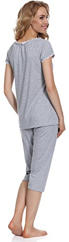 Italian Fashion IF Pyjama Femme Montana 0225 Melange/Rose