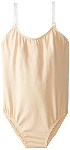 Kostüm Tanz Strapse - Capezio 3532c Damen Camisole mit transparenten Trans Strap L Nude