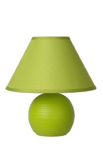 Lucide KADDY - Tischlampe - Ø 20 cm - Grün - Grüne Keramik Tisch Lampe