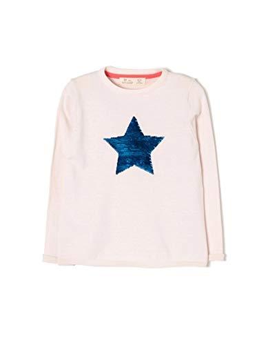 ZIPPY ZG0201_455_4 Chaqueta, Rosa Heavenly Pink 3137, Tamaño del Fabricante:6/7 para Niñas
