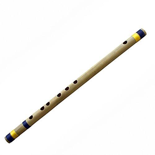 Indische quer Bambus Flöte Musikinstrumente (D-Tune) Woodwind Anfänger/Professional Bansuri 43 CM