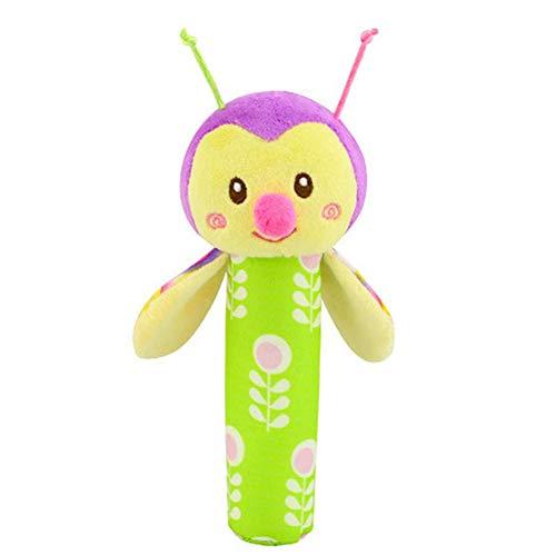 Sungpunet Baby bee Babyrassel Plüschspielzeug Krippe hängen Spielzeug, Sportkinderwagen Autositz Bett Spielzeug, neugeboren Aktivität Entwicklung Spielzeug, einzigartige