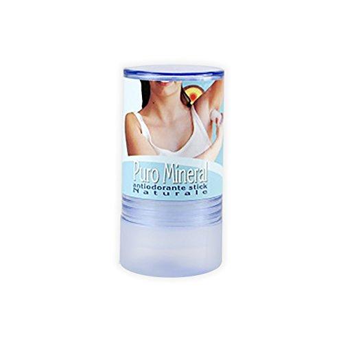Deo Kristall Stick - Geruch-Stopp - 120 gr stick (Antibakterielle Deodorant Seife)