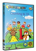 #1 Preschool Learning DVD Series : Snapatoonies - Episode 14: Counting to 10 :: Bridging the Word Gap - Early Language Development System - Rich Vocabulary and Positive Reinforcement for Baby, Toddler and Children Under 5 - Award Winning Educational (Bridging 10 The Gap)