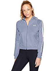 Under Armour Women's Rival Fleece Fz Hoodie Warm-up Top