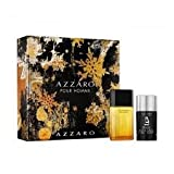 AZZARO HERREN Geschenkset (EDT SPRAY DEO STICK 50 + 75)