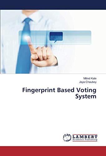 Fingerprint Based Voting System
