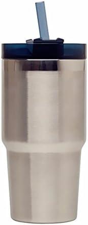 TXTTXT Tazza di di di paglia in acciaio inox tazza tazza grande capacità tazza di caffè portatile tazza grande Thermos   A Basso Costo    Di Qualità Superiore  cad861