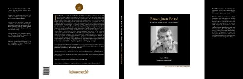 Bravo Joan Pons! : l'univers del baríton a Nova York