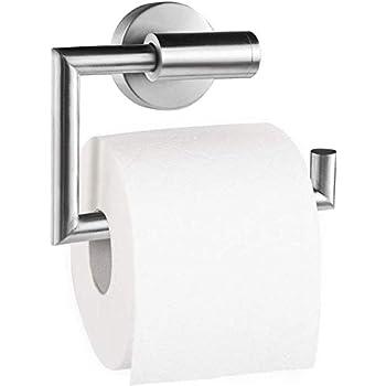 Edelstahl Dailyart Toilettenpapierhalter Toilettenpapierrollenhalter Klopapierhalter Klorollenhalter Klopapierrollenhalter Kleben Ohne Bohren Geb/ürstet