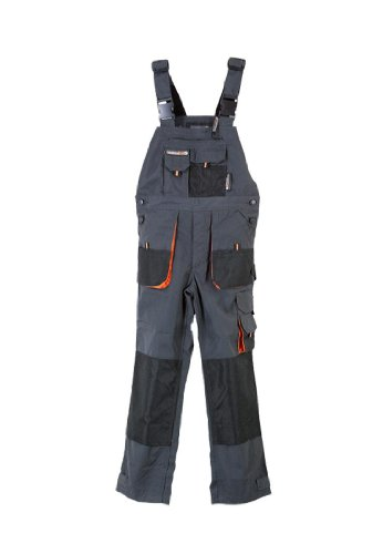 Terratrend Job 6229–104–6310Größe 104Kinder Latzhose–dunkelgrau/schwarz–P, mehrfarbig, 6229-104-6310