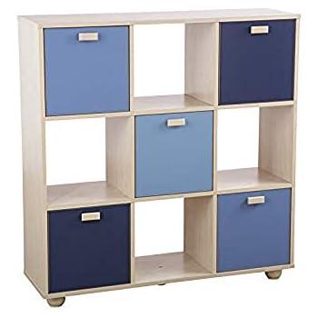 Right Deals UK Sydney 3x3 Cube Storage Unit Shelves - Pink ...