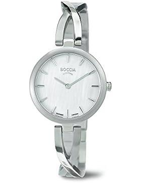 Boccia Damen-Armbanduhr XS Analog Quarz Titan 3239-01