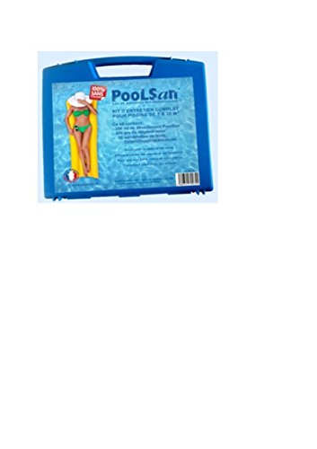 POOLSAN Kit complet de désinfection - 100% sans chlore - Pou.