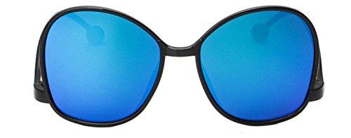 Wer Bin Ich Frau Personifizierte Sonnenbrille Schläfen Unterseite Des Großen Kasten In Den Schatten UvSonnenbrille,BrightBlackBlueMercury