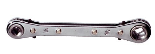 KS Tools 130.0122 4 in 1 Kälte-Klima-Ratschenschlüssel, umschaltbar