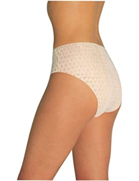 Tigex - Pack de 4 bragas desechables, color blanco
