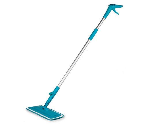 beldray-la035813tq-easy-fill-spray-mop-aluminum-turquoise