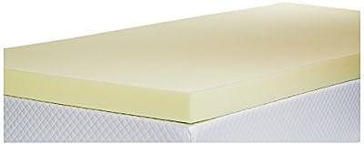 Southern Foam Memory Foam Mattress Topper with Cover