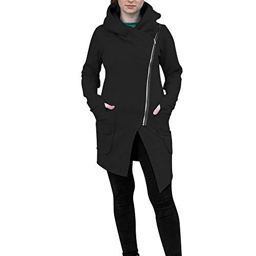 TWIFER Damen 2019 Winter Zipper Jacke Hoodie Kapuzenpulli Mantel (Prinz Charming Kostüm Für Herren)