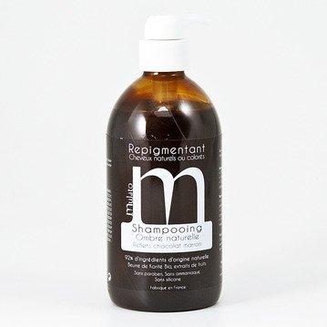 Französisch-shampoo (Shampoo Schatten naturbelassen (braun) 500ml–Mulato)