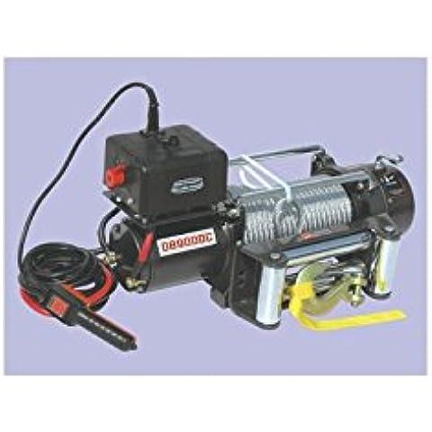 Verricello 12Volt Cable acciaio Potenza Maxi 4086kg per Jeep–db9000C