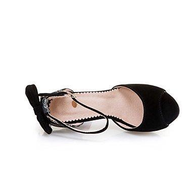 LvYuan Da donna Sandali Comoda Cinturino alla caviglia Suole leggere Finta pelle Estate Formale Serata e festaComoda Cinturino alla caviglia Blue