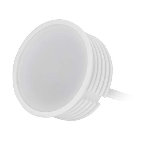 1 module LED MR16 extra plat GU10 MR16 50 mm, diamètre de réflecteur 22 mm, longueur variable 5 W 430 lm blanc chaud 3000 K, connexion directe à 230 V, rayonnement 120 ° pour spot standard