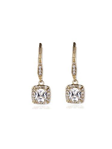 anne-klein-or-tone-percees-cristal-boucles-doreilles-pendantes
