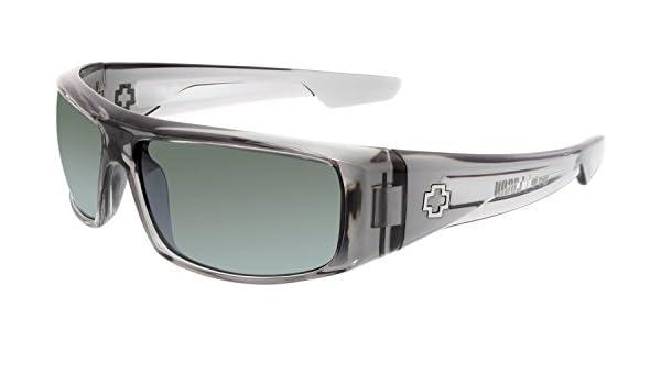 e6d9b0061f Spy Logan Sunglasses - Happy Grey Green Silver Mirror