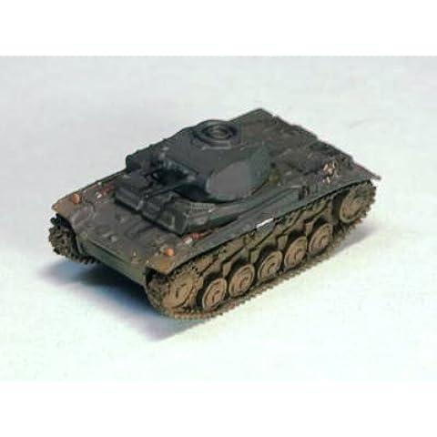 1/144 del tanque Serie Mundial Museo 03-41 II Panzer F-tipo tanque ligero de camuflaje monocromatica (gris aleman) pintado por separado