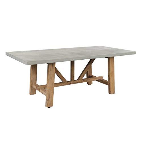 OUTLIV. Gartentisch Gartentisch 200x100cm Akazie/Zement Outdoor Tisch