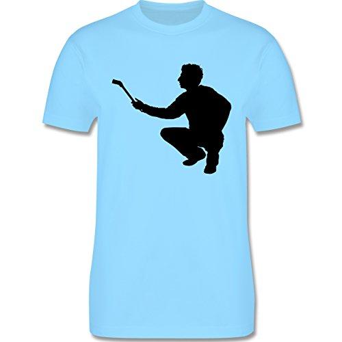 Handwerk - Maler - Herren Premium T-Shirt Hellblau
