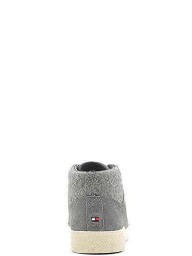 Tommy Hilfiger , Chaussures de sport d'extérieur pour homme gris acier 40 EU acier
