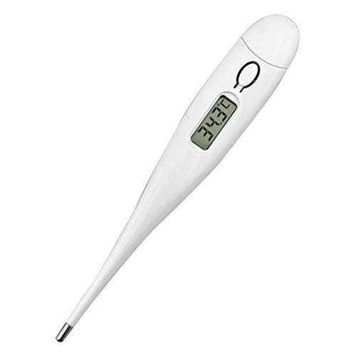 JUZEN 2PCS Thermomètre Bébé, Mercure Thermomètre Pointe Flexible Lecture Rapide pour Rectal...