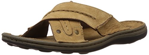 Woodland Men's Camel Leather Hawaii Thong Sandals and Floaters - 7 UK/India (41 EU)  available at amazon for Rs.1686